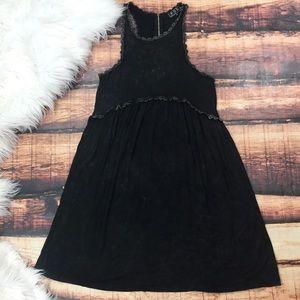 Boutique POL Black Acid Washed Dress